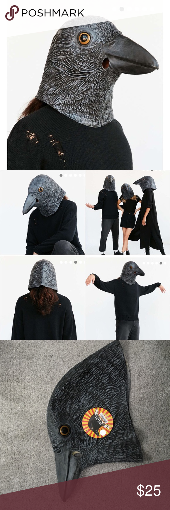 Sinister Crow Mask Halloween costume sinister crow mask purchased ...
