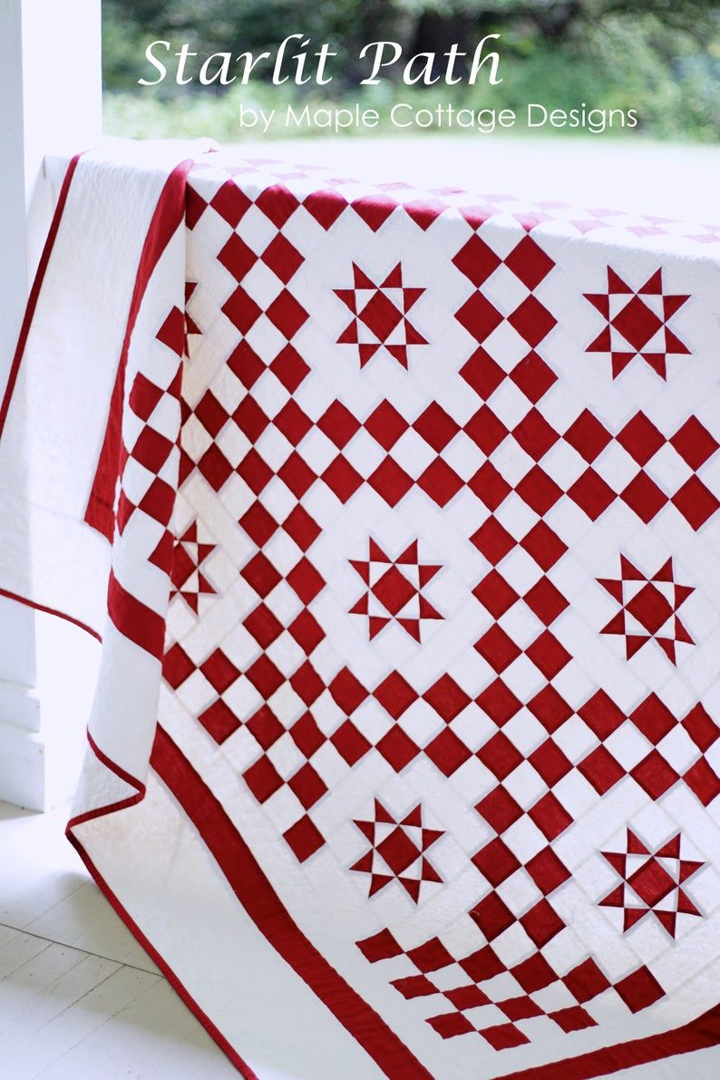 Quilt Patterns Pdf Easy Quilt Patterns Red And White Quilt Pattern