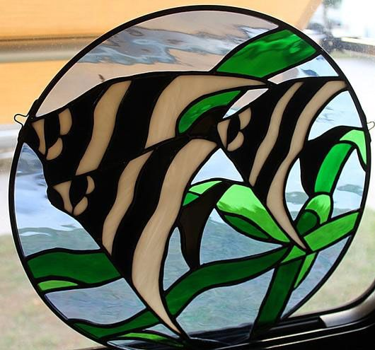 Angelfish - Delphi Stained Glass