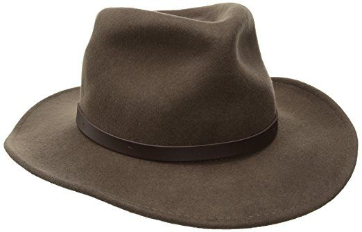 422a8cca0e80a Woolrich Men s Crushed Felt Outback Hat Review