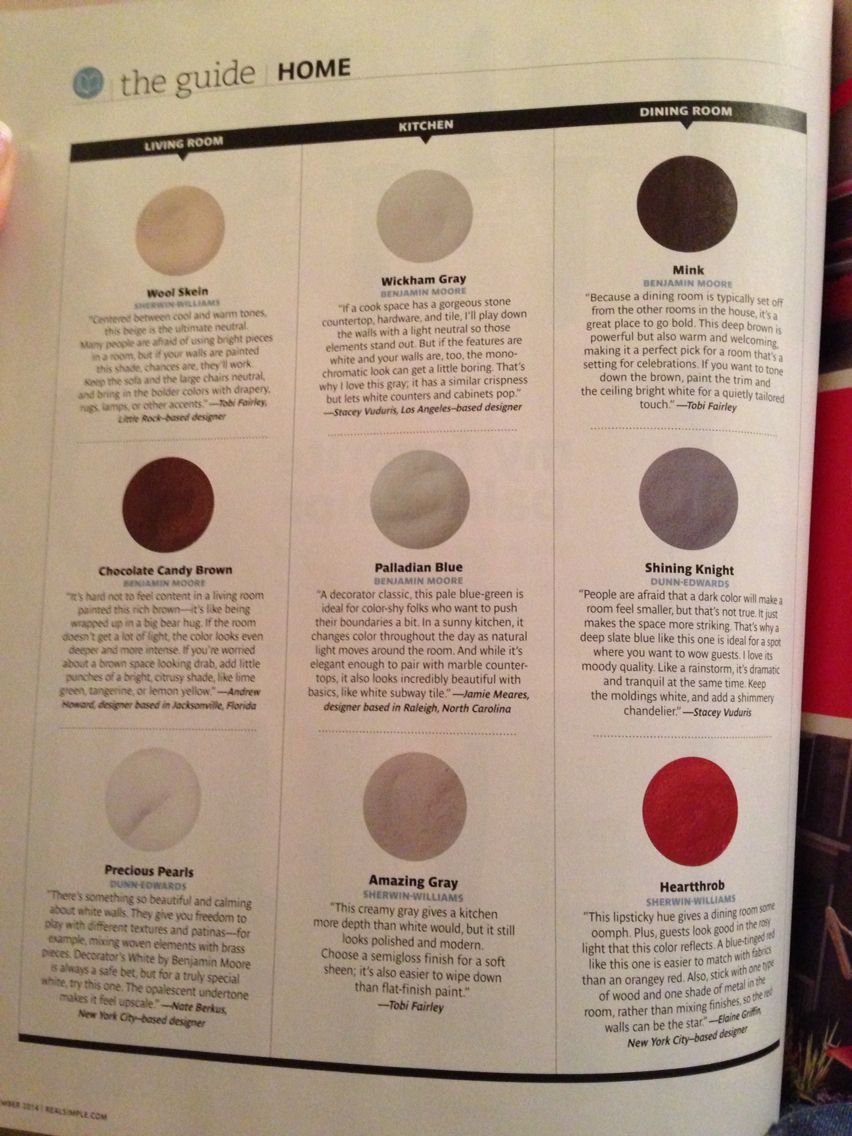 real simple my favorite paint color for the home home decor home furniture favorite