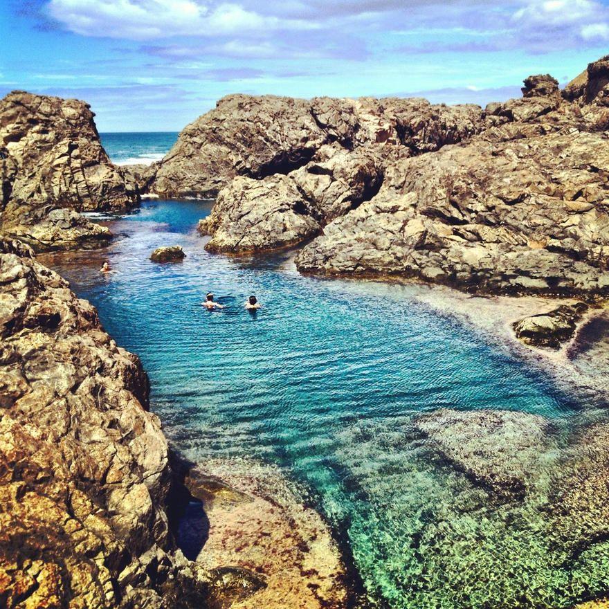Los charcones de ajuy fuerteventura islas canarias spain planning my trips lanzarote - Piscinas 7 islas ...