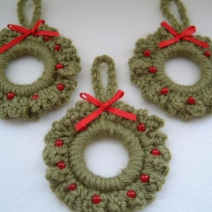 Free Christmas Crochet Patterns Free Christmas Ornament Crochet