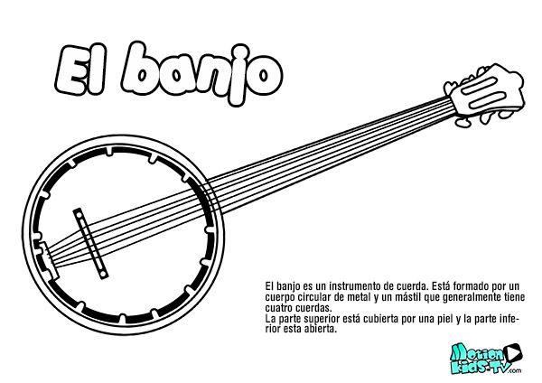 Image result for colorear instrumentos musicales para niños ...