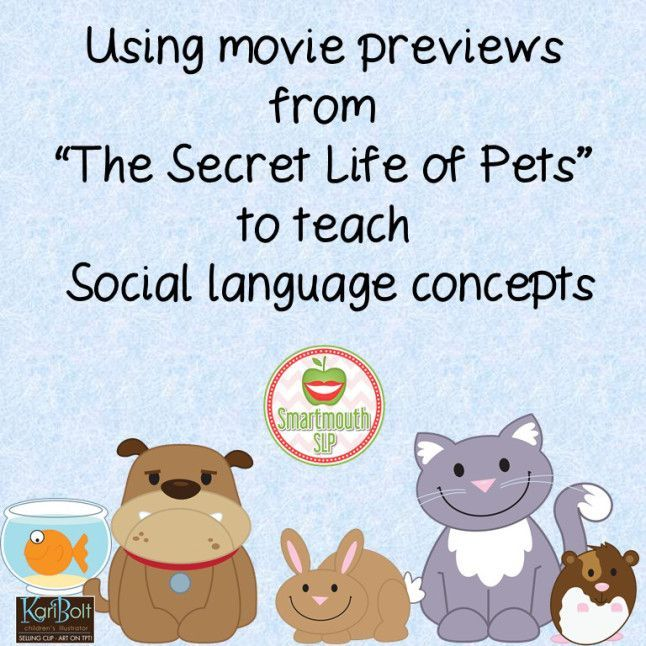 How Should I Know Secret Life Of Pets Social Skills Videos Social Group Activities