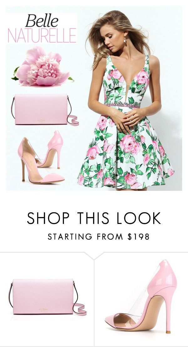 """la Bella"" by cilita-d ❤ liked on Polyvore featuring Kate Spade and Gianvito Rossi"