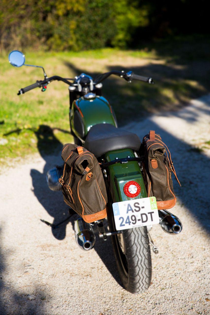 Large Khaki Patriot Saddlebag With Images Saddlebags Retro