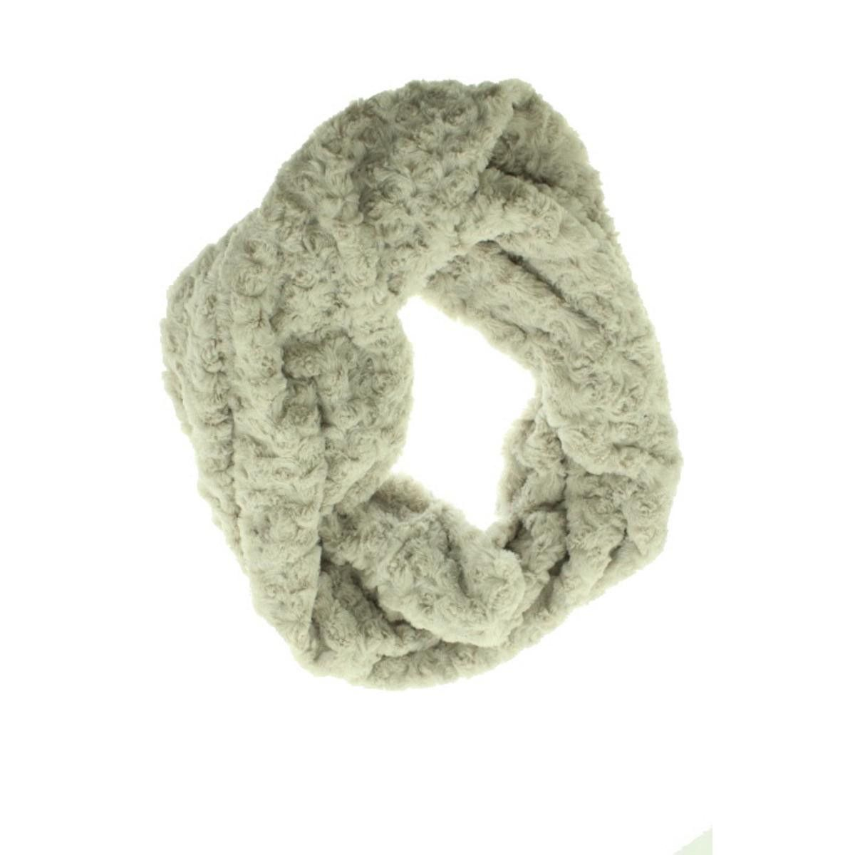 BP. Womens Faux Fur Decorative Infinity Scarf