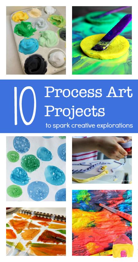 Top 10 Process Art Activities For Young Children Kids Art