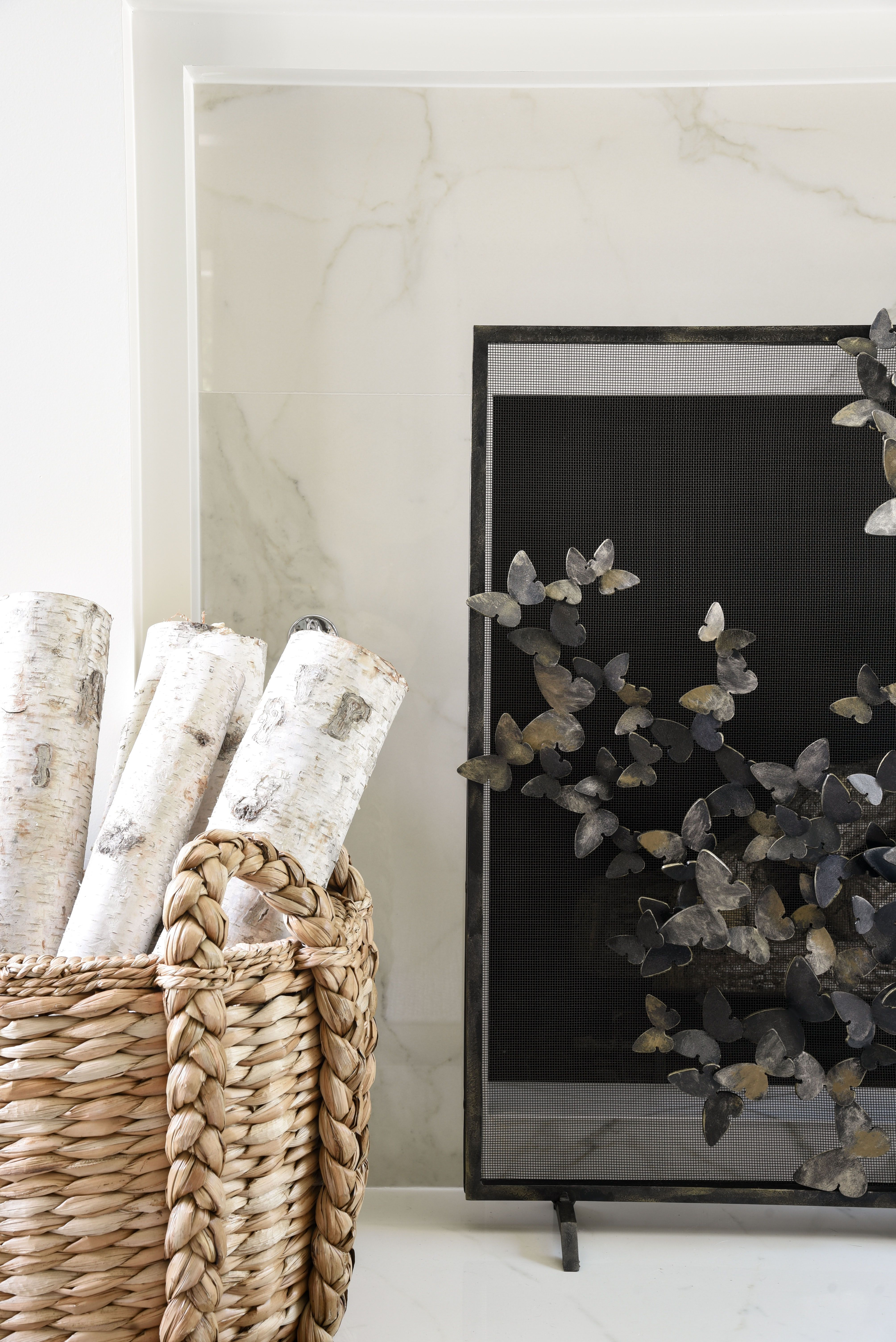 Erfly Fireplace Screen By Claire