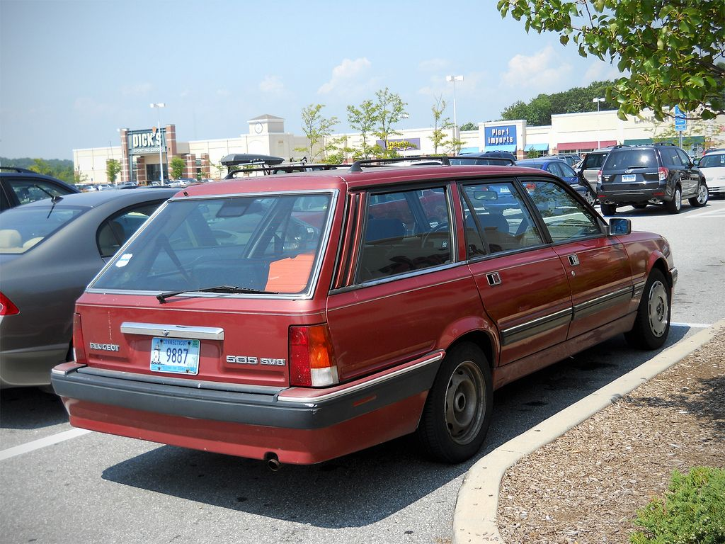 Peugeot 505 Sw8 Estate Peugeot Two By Two Estates