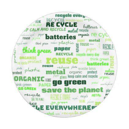 reduce reuse recycle word cloud paper plate zazzle com reuse