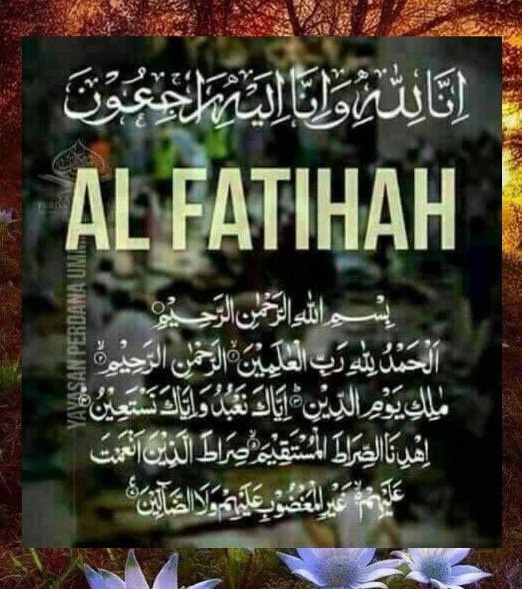 Salam Takziah Muslim Greeting Islamic Teachings Quotes