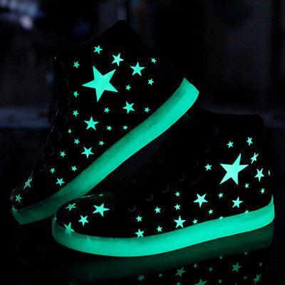sports shoes 214a3 54046 Leuchtende Schuhe fluoreszierend wasserfest Sneakers Unisex ...