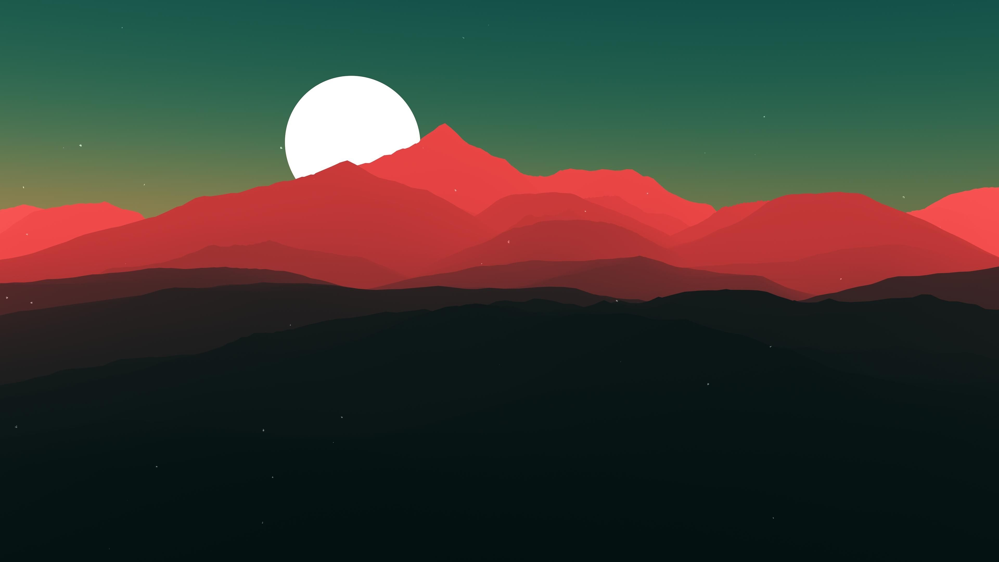 3840x2160 Minimalism 4k Wallpaper High Resolution Minimalist Landscape Landscape Wallpaper Digital Wallpaper