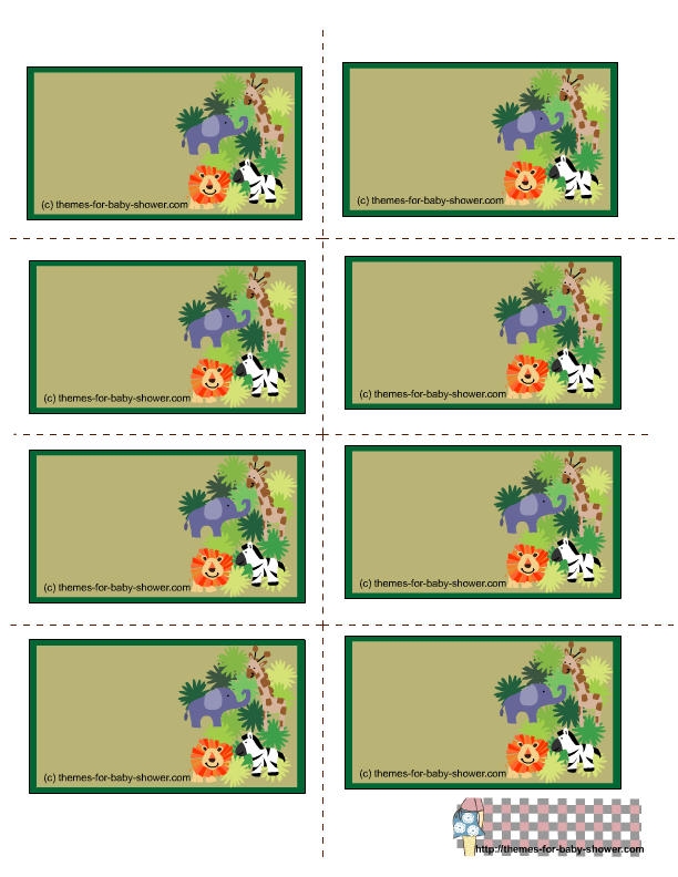 free.+printable+safari+labels | click on the image on the left to ...