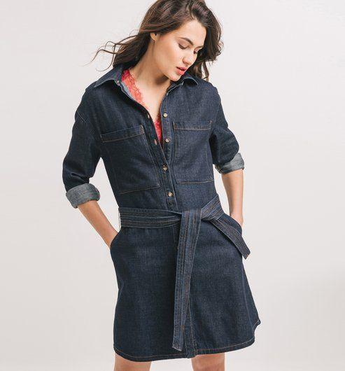 f5f13a4128 Női+farmerruha | Promod | Dresses, Denim jeans és Shirt Dress