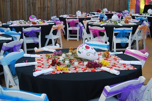 Day of the Dead Wedding | Wedding centerpieces, Centerpieces and ...