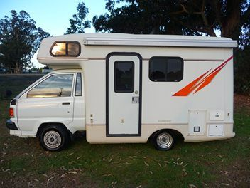 Up To 5 Metres Motorhomes Trade Me Cool Rvs Toyota Camper Vintage Travel Trailers