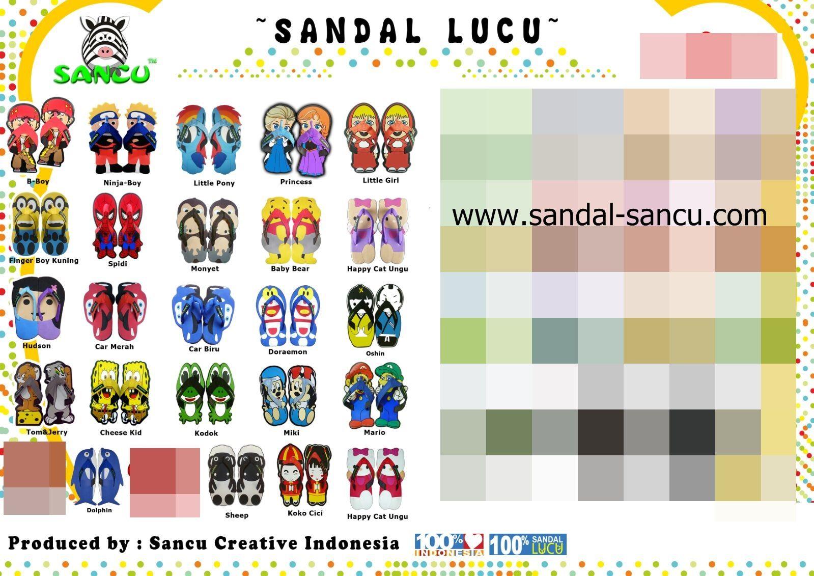 Jual Grosir Sandal Sancu 21,24 - Grosir Pabrik Sancu | Tokopedia