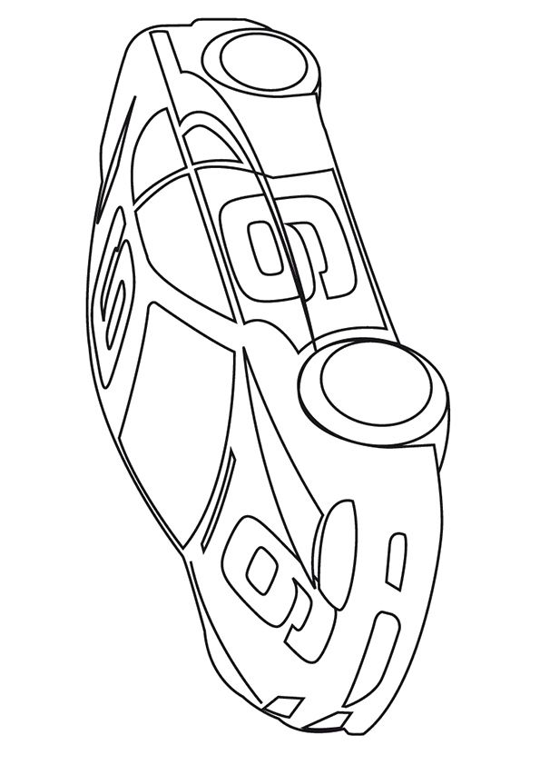 Car Coloring Pages Momjunction Background