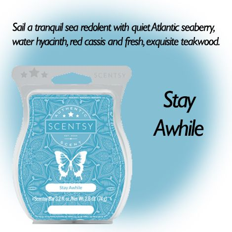 Stay Awhile New Release Scentsy Wax Bars Pinterest
