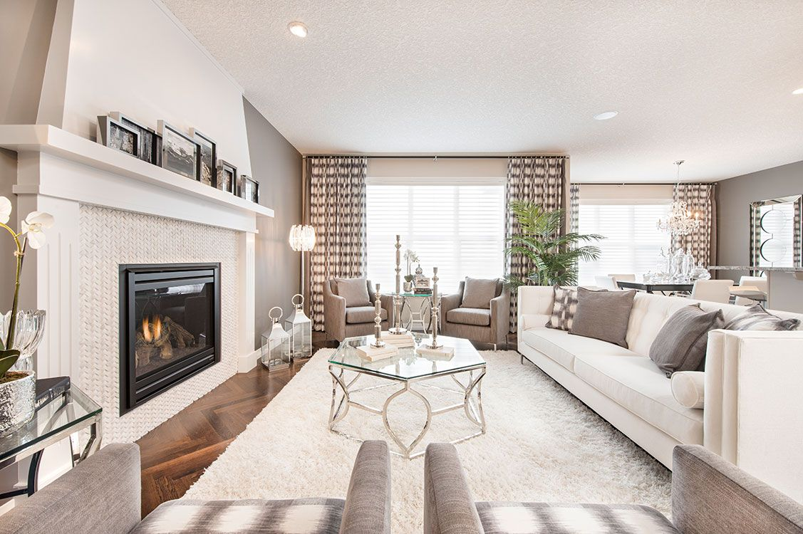 Jayman Inverness showhome | Home | Pinterest | Living rooms, Room ...