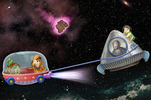 """The Wonder Pets"" spaceship (With images) Wonder pets"