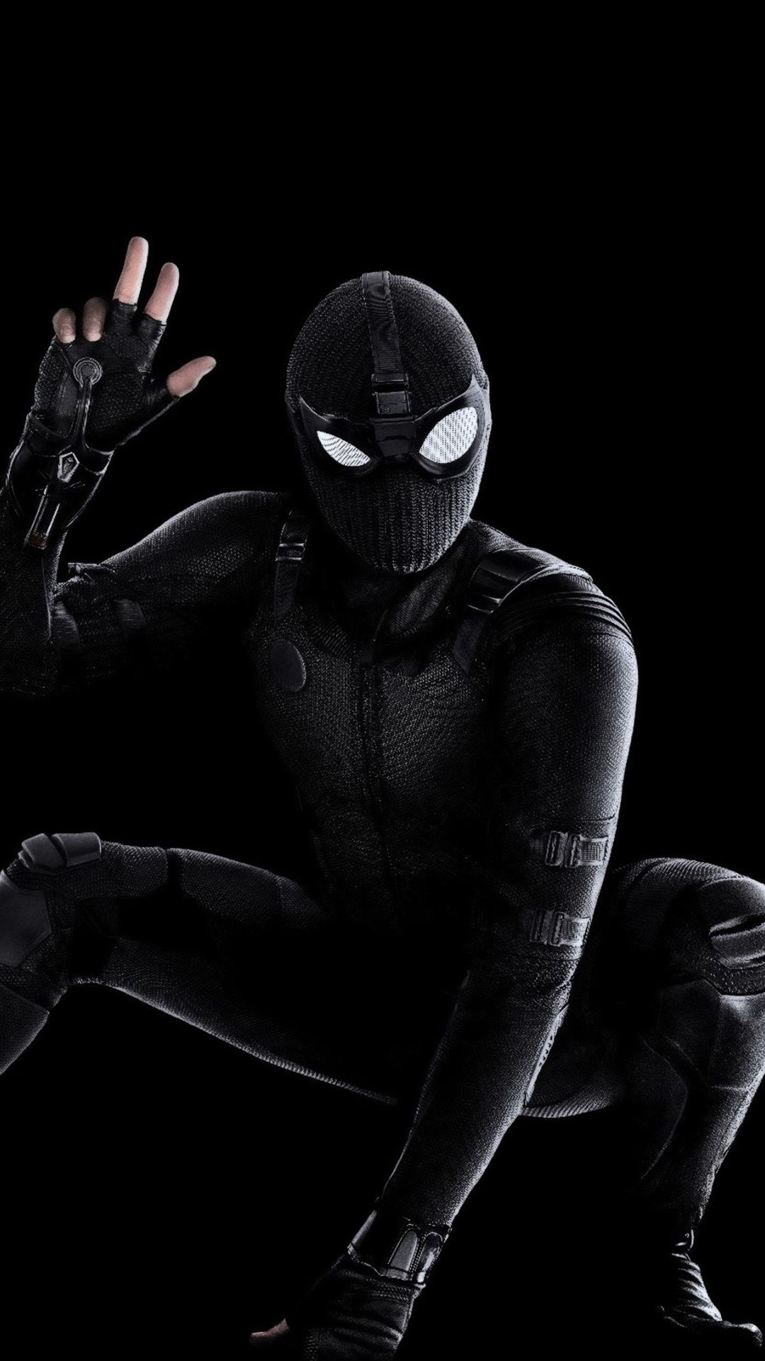 1080x1920 Spider Man Far From Home Black Suit Wallpaper Spiderman Marvel Superheroes Spiderman Suits