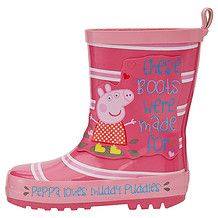 Peppa Pig Rain Boots Pink Boots Childrens Accessories