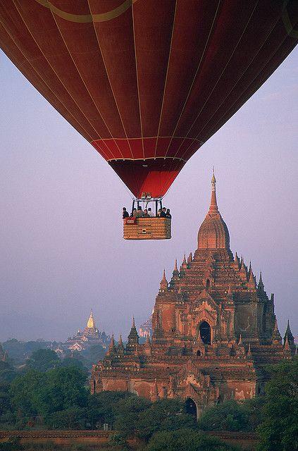 Balonismo...em Myanmar!