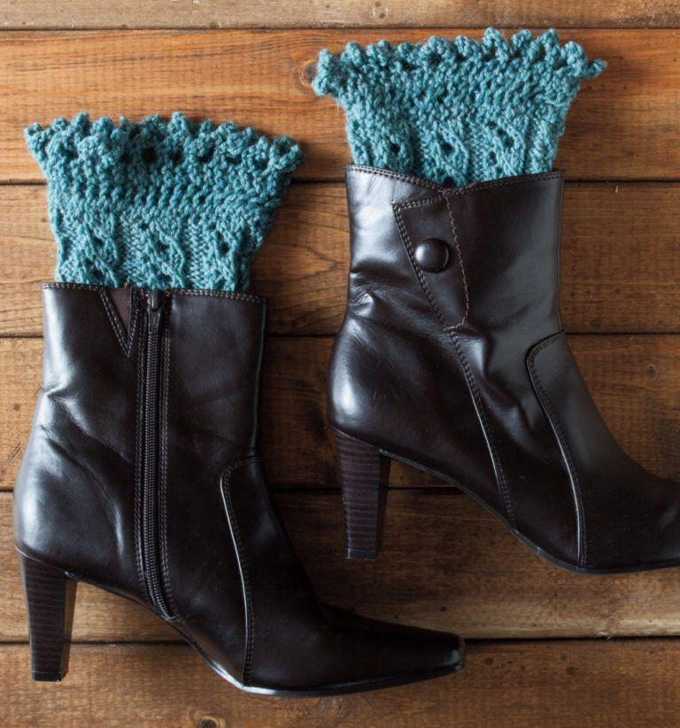 Knitting Pattern for Pikabu Boot Cuffs | Boot cuffs, Free ...