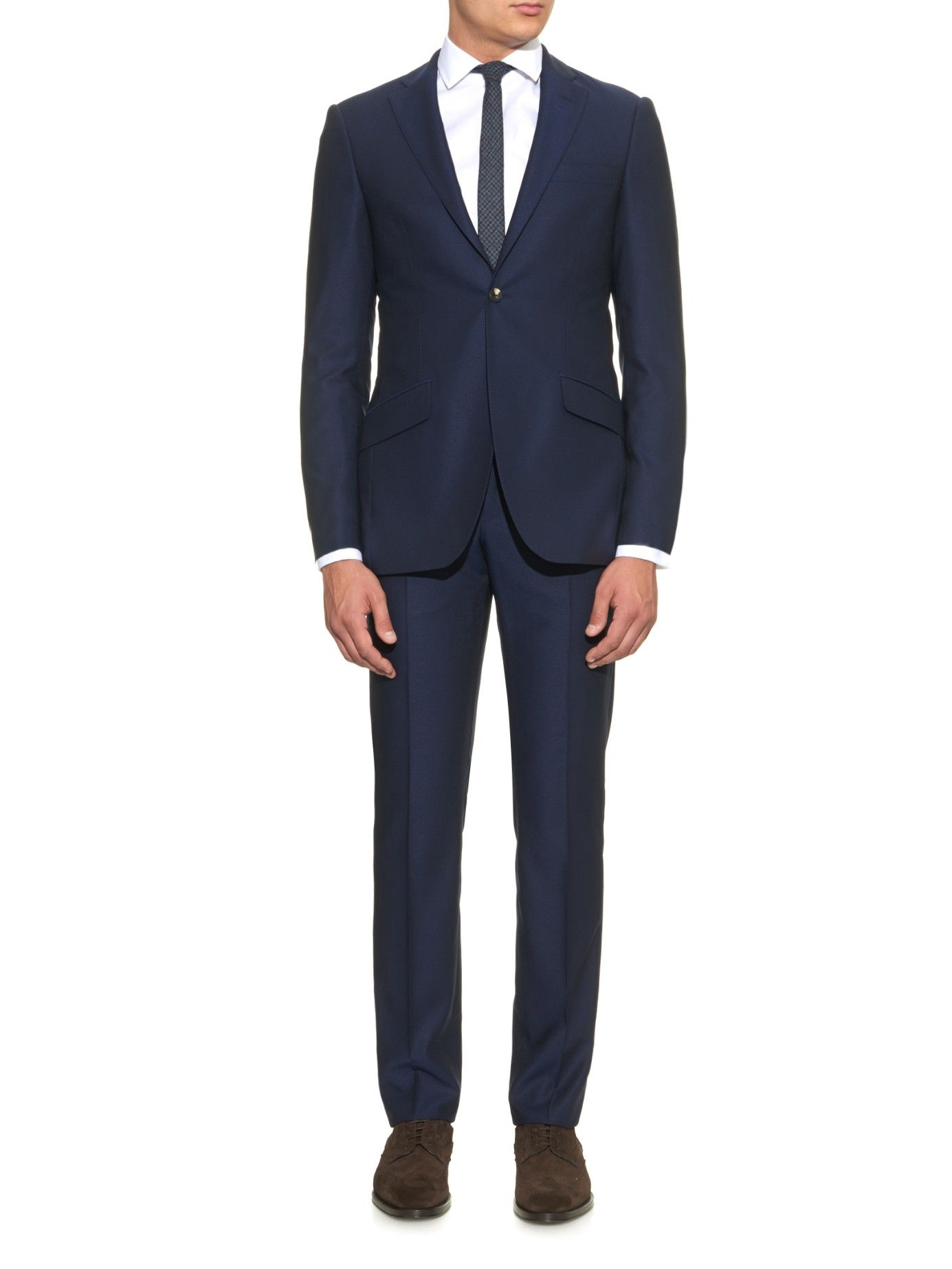 Slim-fit wool suit | Richard James | MATCHESFASHION.COM US