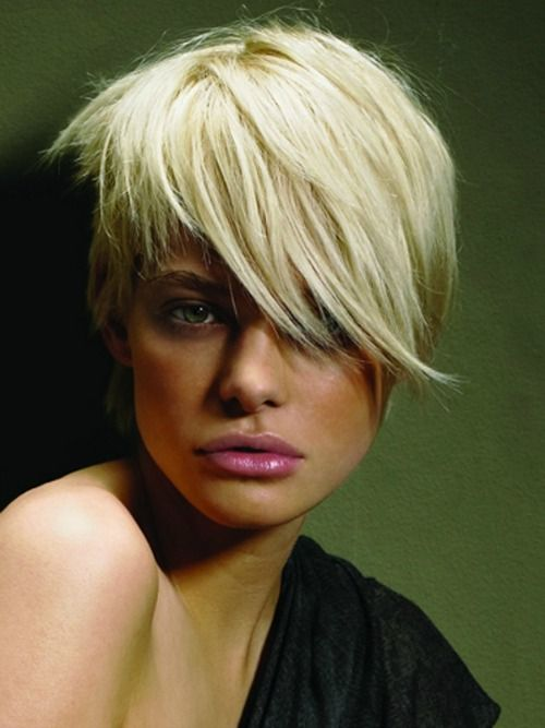 Asymmetrische Frisuren für coole Frauen mit kurzem Haar! - Neue Frisur