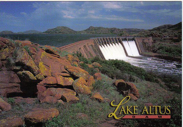 Lake Altus Dam Altus Dust Bowl Altus Oklahoma
