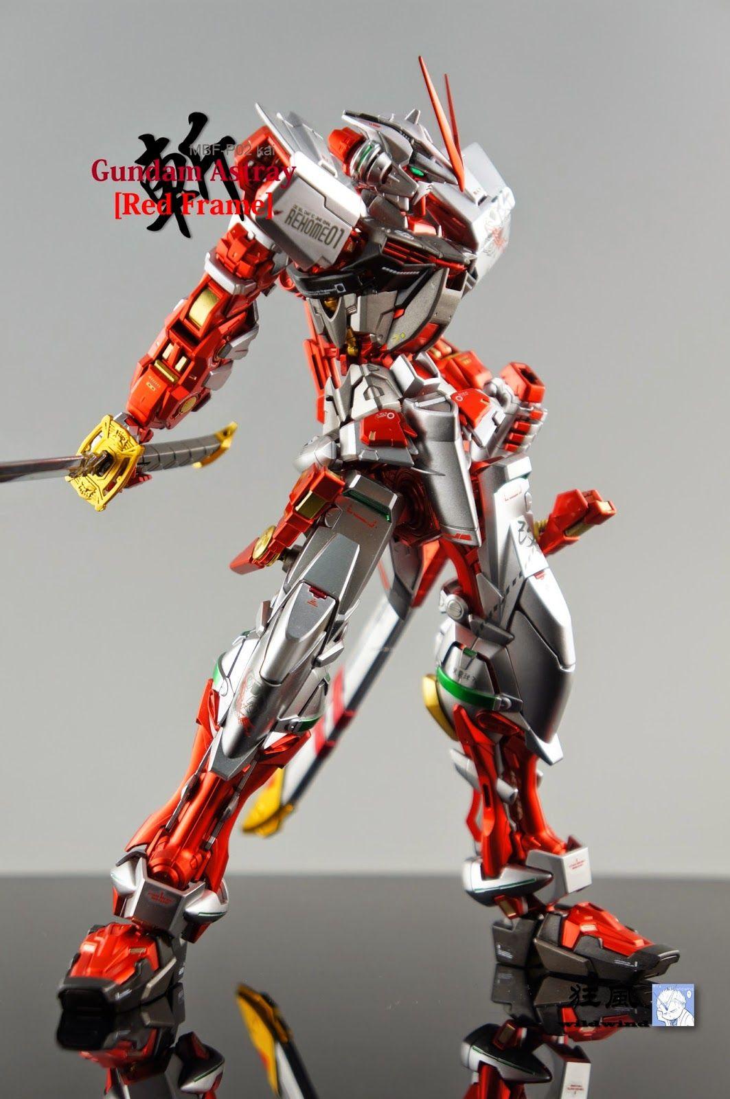MG 1/100 Gundam Astray Red Frame Kai Painted Build
