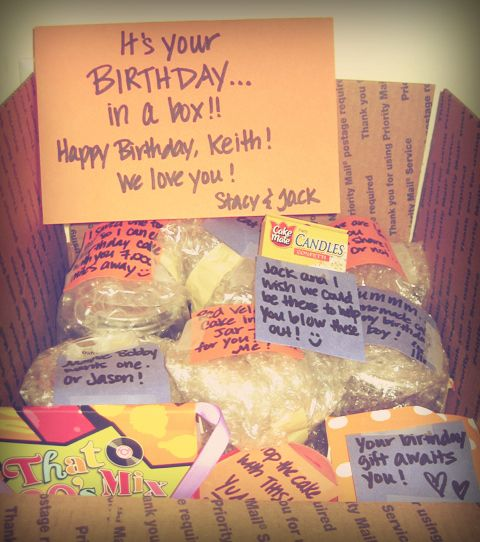 Birthday Care Packages, Birthday Box, Birthday Packages