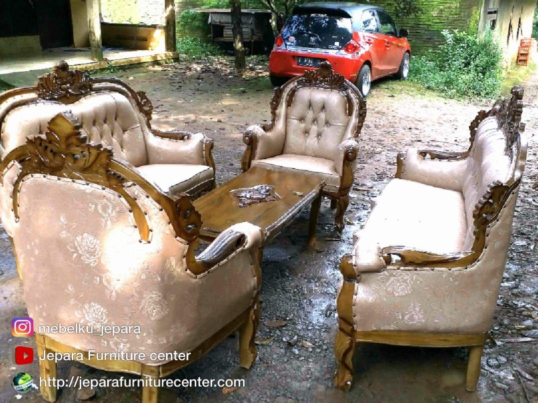 Pin Oleh Naula Furniture Di Sofa Tamu Mewah Sofa Virginia Kemewahan