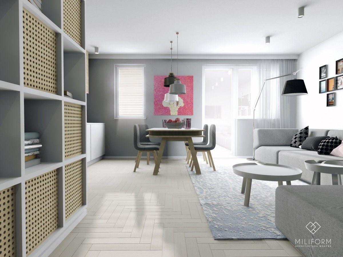 Mieszkanie W Krakowie Strefa Dzienna Home Decor Home Room