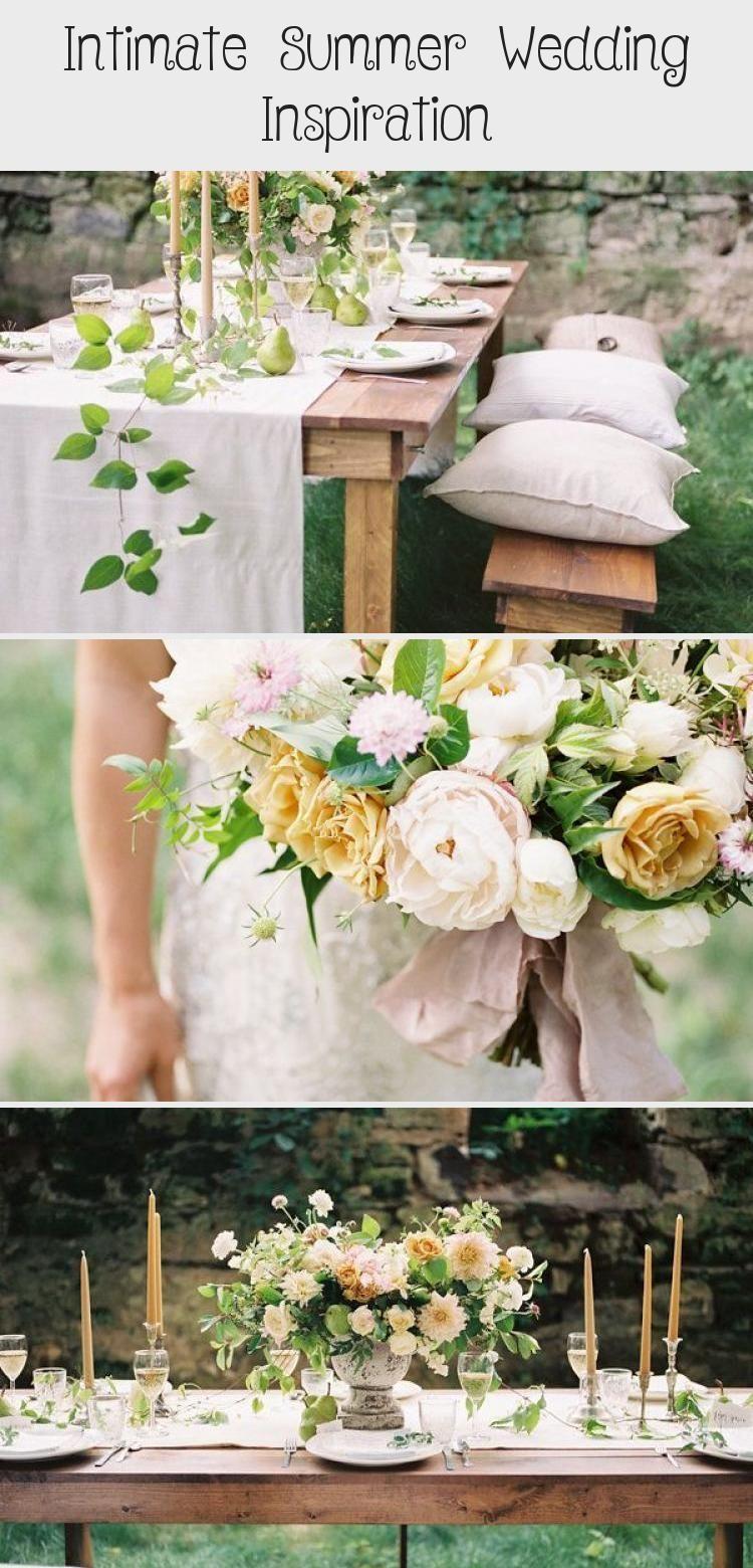 Photo of Intimate Summer Wedding Inspiration – Photography: Jake Anderson Wedding Dress: …