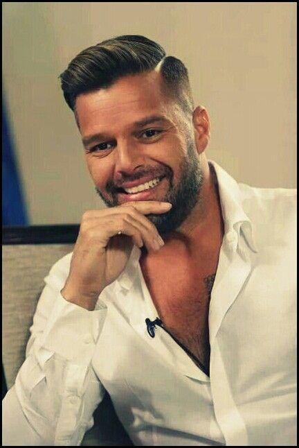 Ricky Martin   Capelli uomo eleganti, Tagli di capelli ...