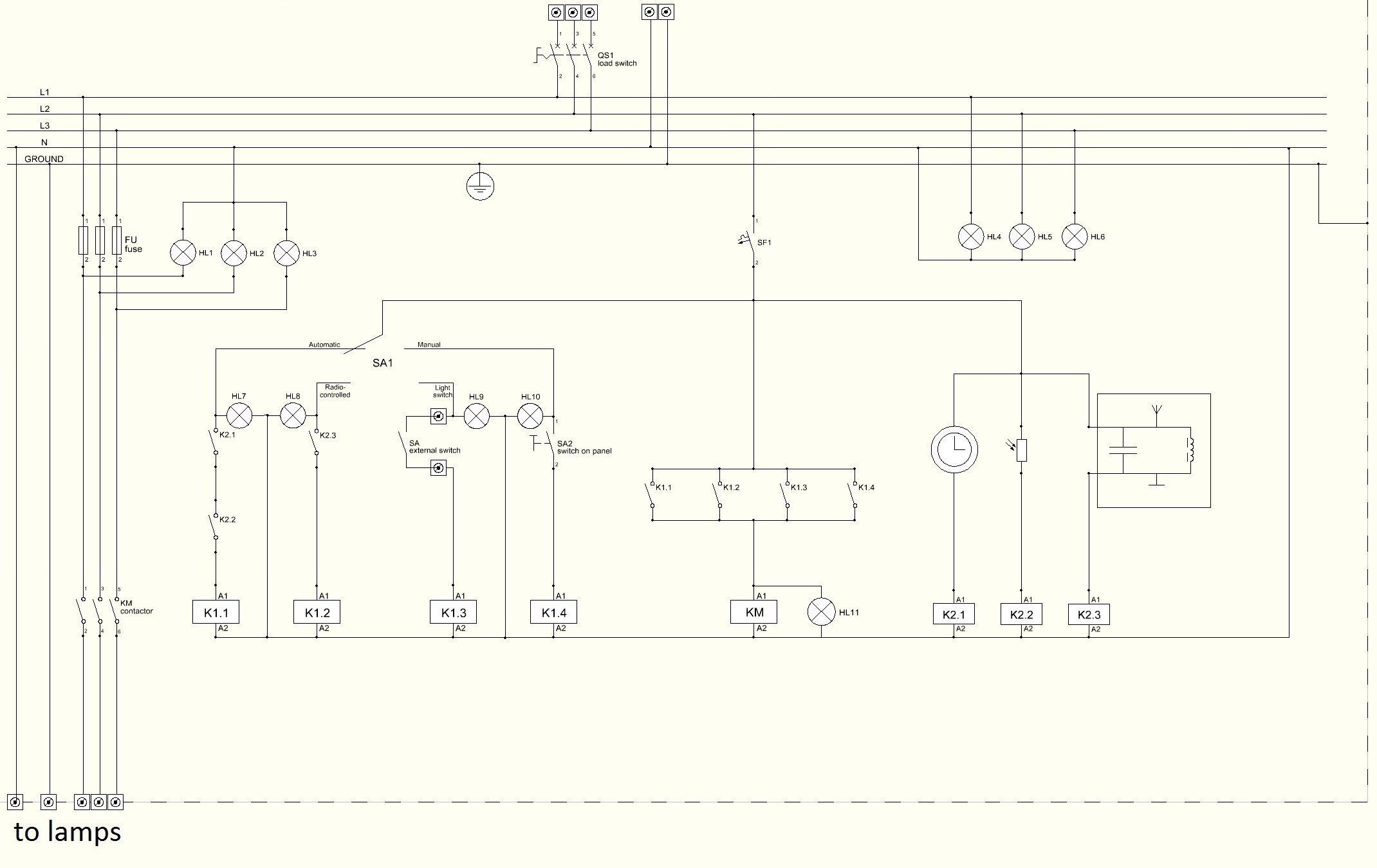 Plc Panel Wiring Diagram Bookingritzcarlton Info Electrical Wiring Diagram Circuit Diagram Electrical Circuit Diagram