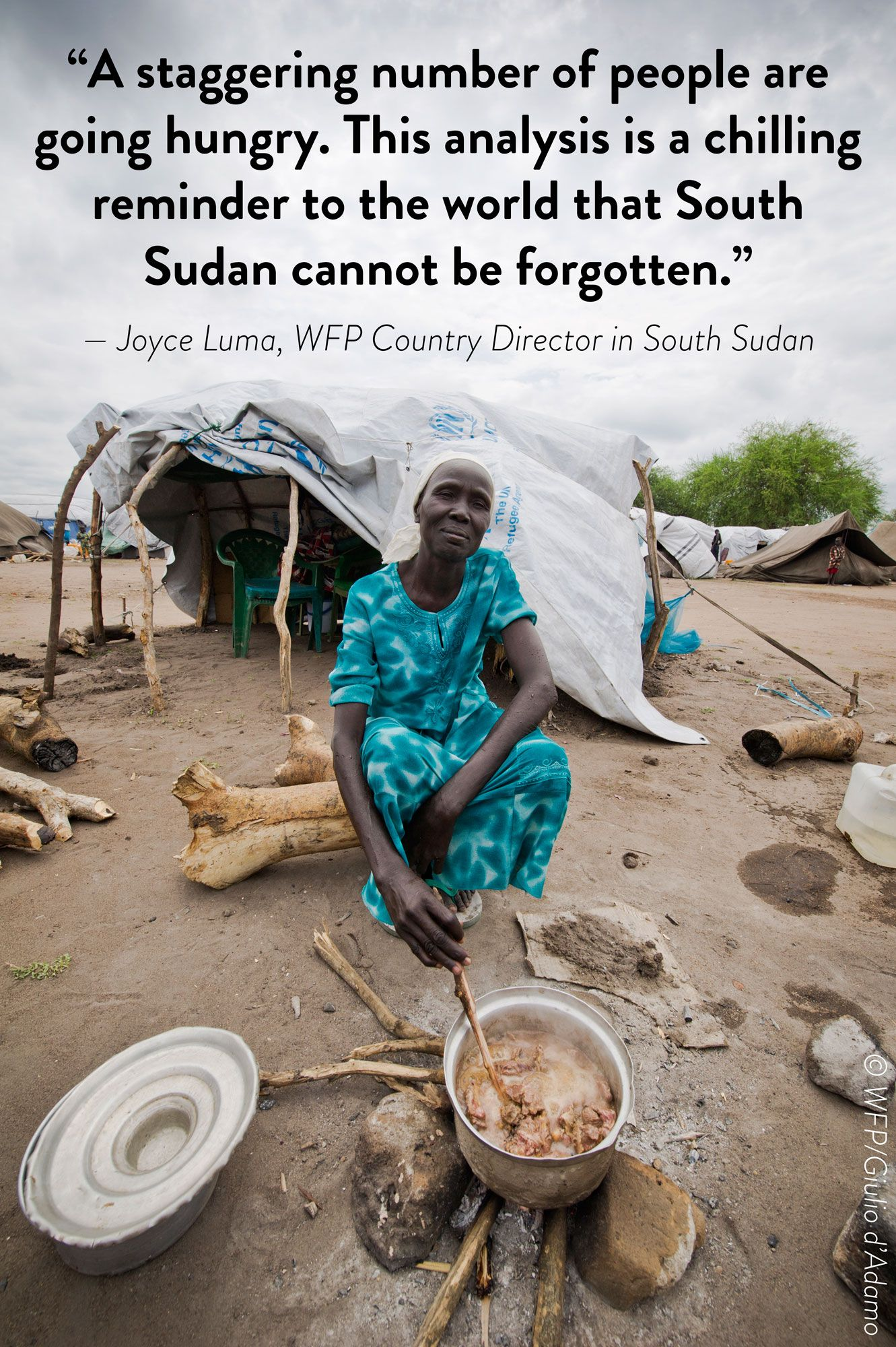 Postcard from SouthSudan A staggering number of