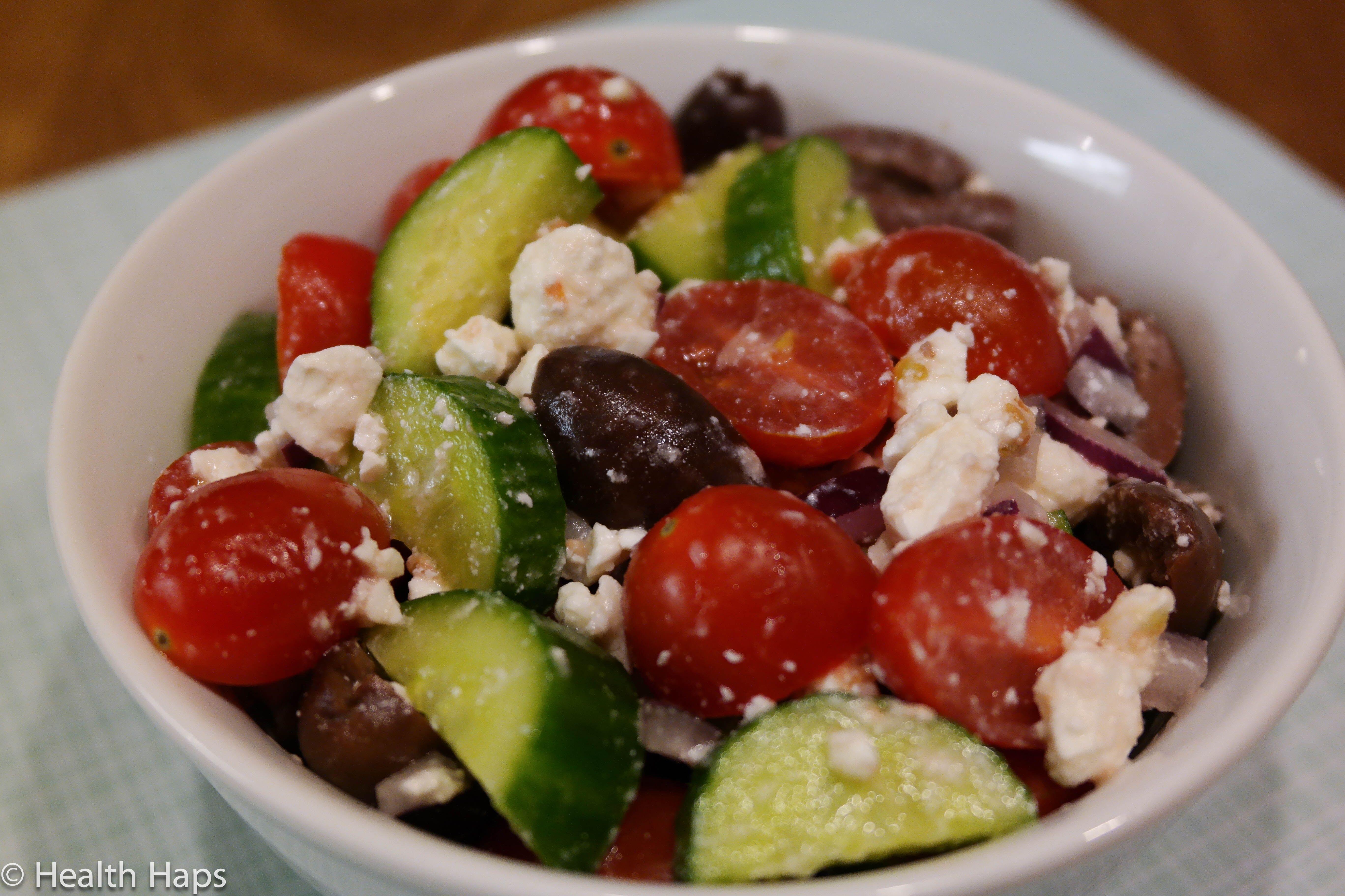 Light & Fresh Greek Salad
