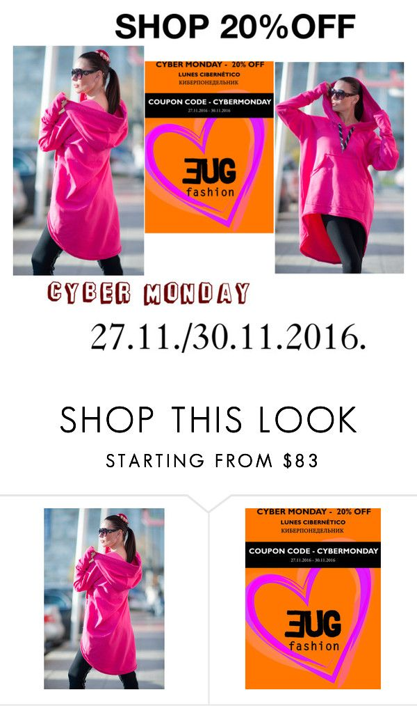 """""""CYBER MONDAY 27.11./30.11.2016"""" by umay-cdxc ❤ liked on Polyvore featuring EUGfashion"""