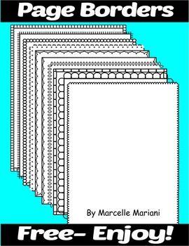 Accomplished image inside free printable borders for teachers