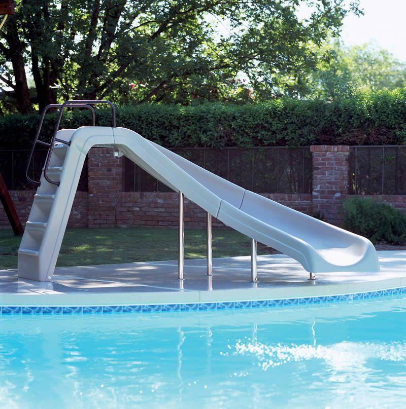 Inground Pools With Waterslides 6' x-stream 2 slide | pool slides | pinterest | pools, swimming