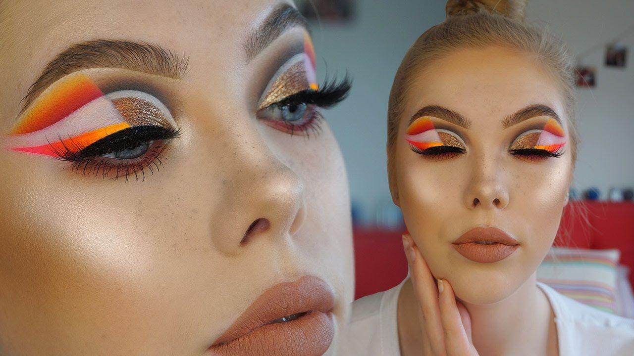 SPLIT EYESHADOW TUTORIAL | Lsgmakeup | Eyeshadow tutorial ...