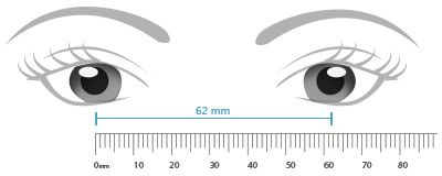 Measure Pd Your Self Eyebuydirect How To Measure Yourself Measurements