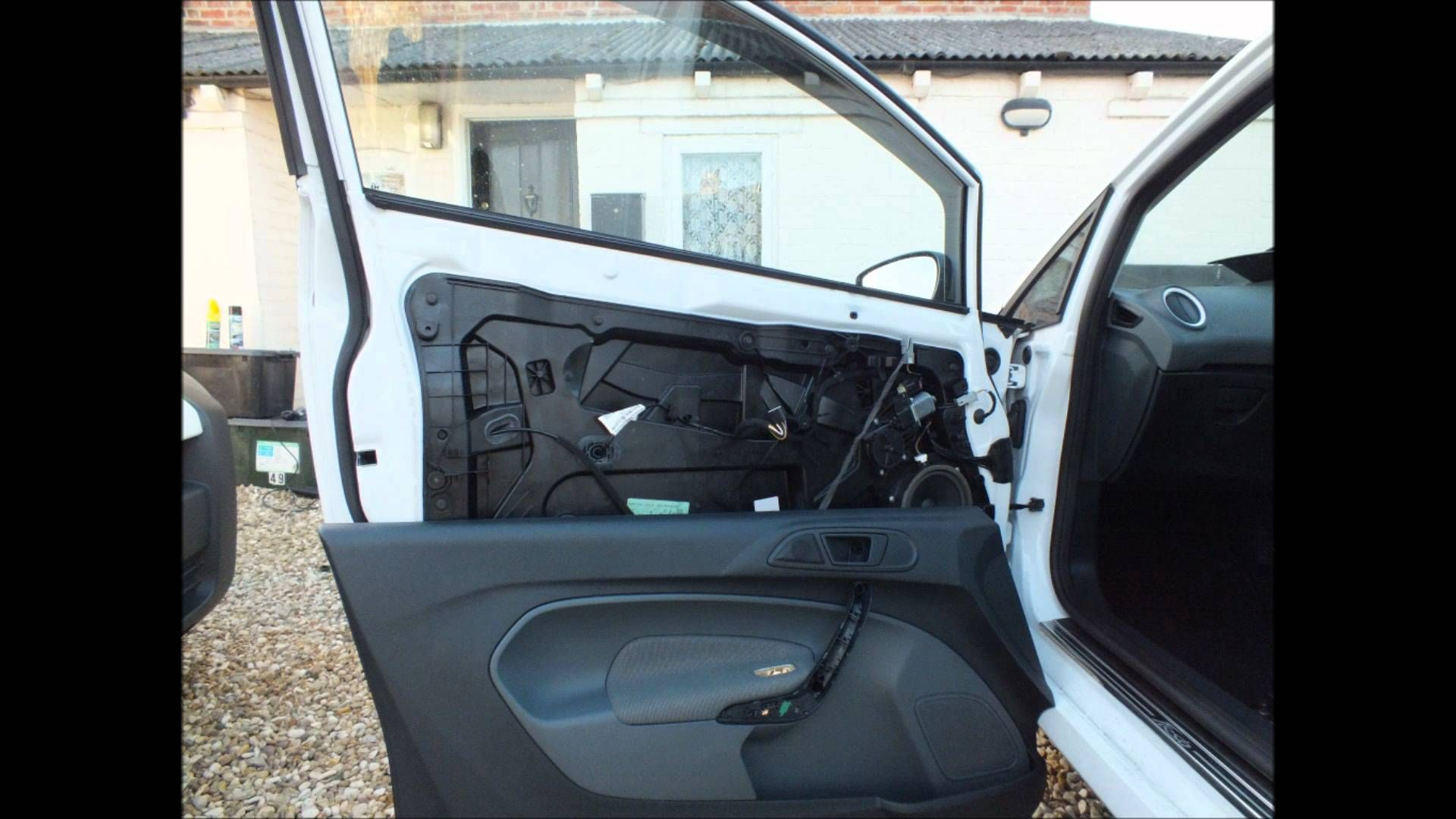 Ford Fiesta Mk7 2008 Present Door Card Removal Powerfold Mirror Fitting Guide Ford Fiesta Ford Ford Edge